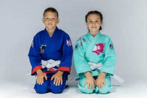 Judogi dla chłopca i dziewczynki