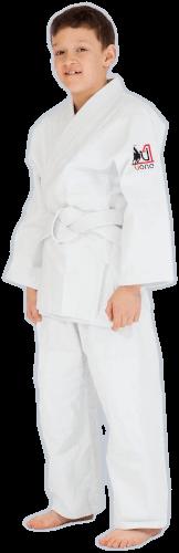 białe judogi