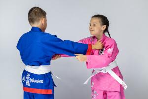 Kolorowe kimona dla dzieci do judo