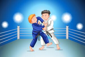 Konkurs z judogami