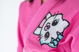 Różowe kimono marki Uone