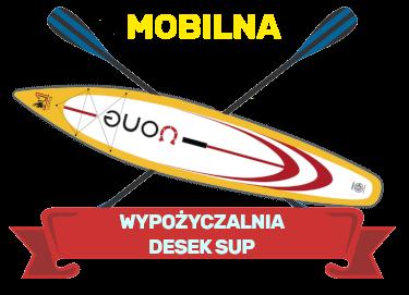 Mobilna wypożyczalnia desek sup Polska