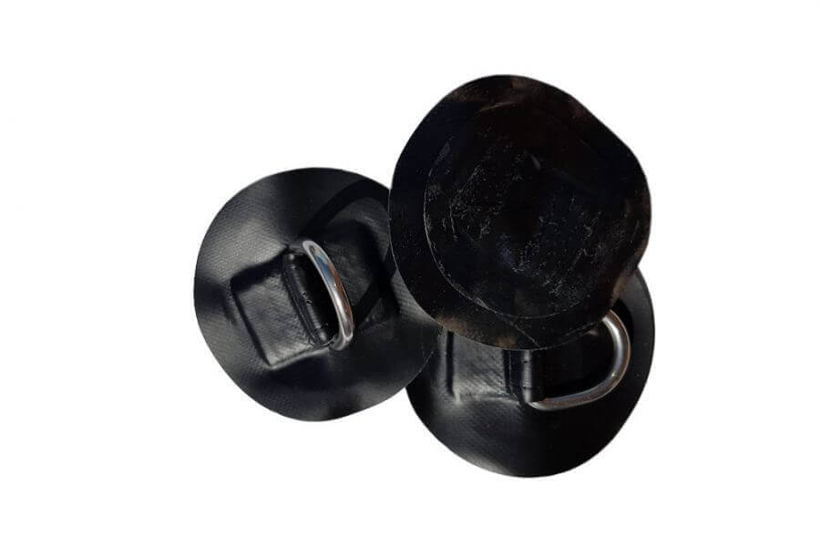 Czarne oczka do deski sup na bagaż