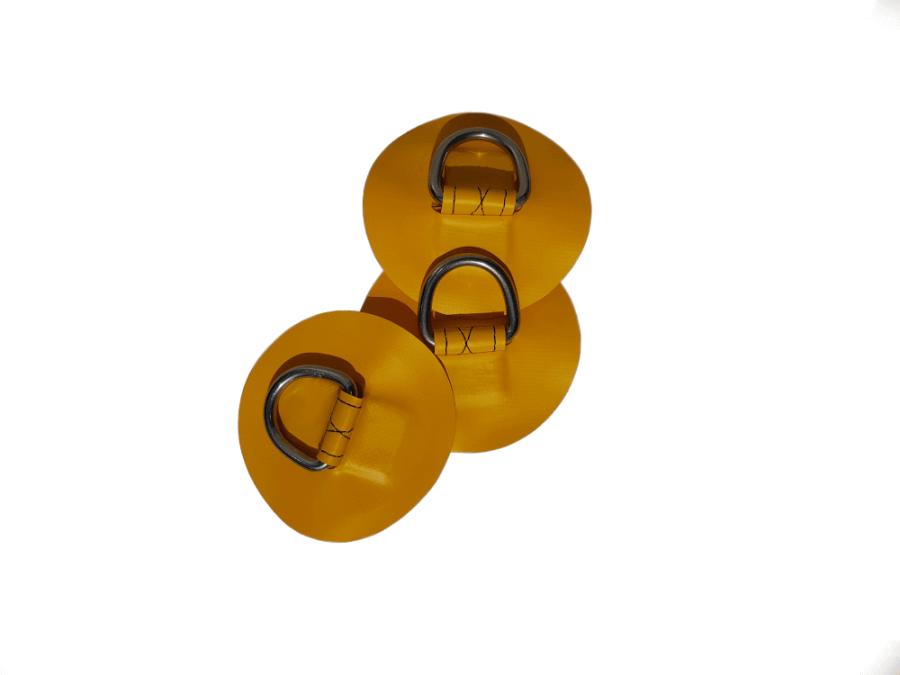 Żółte oczka do deski sup